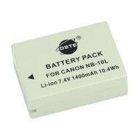 DSTE NB-10L Li-ion Battery Pack for Canon PowerShot G1 X, G15, G16, SX40 HS, SX50 HS