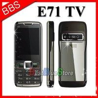 Free shipping celular e71 tv gsm dual sim quadband
