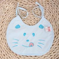 Free shipping Factory direct maternal child supplies waterproof cotton baby kitten cartoon baby bibs