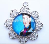 cheap wholesale10pcs/lot kids cartoon character bubblegum chunky necklace pendants frozen children jewelry pendants!