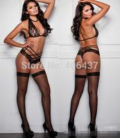 2014 Sexy Lingerie Set Women Lace Halter Bra Panties Ladies Underwear Nightwear Clothing free shipping