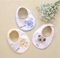 Free shipping 2014 New baby products wholesale trade baby bibs bibs cartoon green bibs