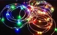 5pcs/lot, DC12V 5M 50leds SMD0603 5W rgb/red/yellow/blue/green/white/warm white led wire copper string christmas light+DC socket