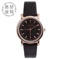 Free shipping wholesale rose golden fashion women watches 2014 women genuine leather quartz watch LB8865C-02