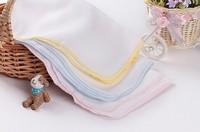 Free shipping Gauze handkerchief towel face towel bibs feeding infants and children cotton scarf wholesale