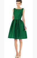 hot sale women clothes 2014 summer new women's dress fashion collar bohemian Ms. Ms. Green  Dress evening dress women clothing