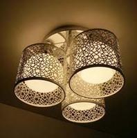 Selling simple ceiling lamp iron carving Pendant wedding bedroom lighting