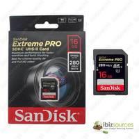 SanDisk Extreme PRO SDHCSDXC UHS-II Memory Card