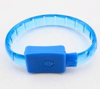 60pcs/lot led fashion bracelet,led party products ,led glow bracelet in nightclub,multicolor light up hand decoration