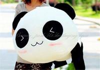 "Free Shipping 45CM 17"" soft Stuffed Plush Doll Toy Animal Giant Cute Panda Pillow Bolster Gift HG-0034_45 On Sale"