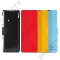 For Nokia Lumia 625 Flip Cover, Nillkin Fresh Series Slim Flip Leather Case for Nokia Lumia 625 1PCS Free Shipping