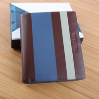 2014 new high-end Brand design Wallet fashion Men Wallets Leather Purses wholesale and retail