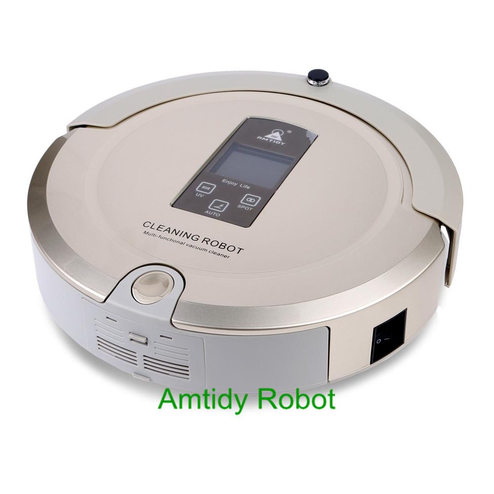 Intelligent A325 robot floor vacuum,Amtidy Best robot vacuum cleaner,Malfunction Prompt robot vacuum for pet hair(China (Mainland))
