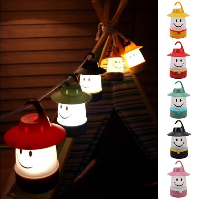 Camping Tent Light Cartoon night light led light bulb luminarias home decoration cheap bedside lamps christmas decoration(China (Mainland))