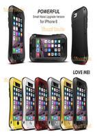 Original LOVE MEI Shockproof Dirtproof Powerful Waterproof Metal Case For iPhone 6 6G (4.7 inch)  Free Shipping