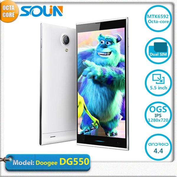Doogee DG550 Dagger MTK6592 Octa Core 1 7GHz Andriod 4 2 Phone 5 5 inch IPS