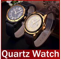 2014 New Fashion Curren High Quality  Men Leather Strap Watch Date Work Casual Dress Analog Quartz Wristwatch Waterproof