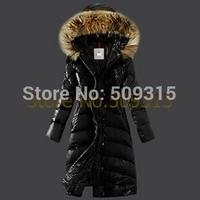 free ship winter women coat 2014 new brand fashion plus size parka women's coat long jacket women outerwear woman winter jackets