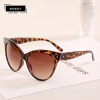 Lowest 10 pcs/lot 2014 NEW Cat Shape Vintage Retro Sunglasses Oculos de sol Women gafas four colors Free Shipping