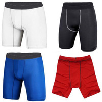 Men's sports shorts tight Men trouses training fitness pants Pro shorts perspiration wicking shorts tights Quick Drying Pants
