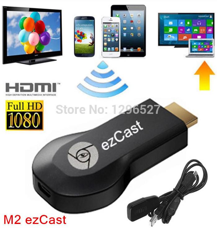 M2 Ezcast Chromecast miracast airplay dlna tv stick wireless display media player 1080p hdmi wifi dongle for windows ios andriod(China (Mainland))