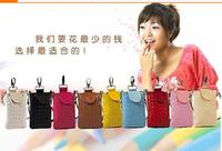 2014 Top selling women's Multifunctional Wallet Mobile Phone Bag Cross-body Messenger Bag  Women Handbag