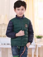 2014 children down jacket new authentic boy down jacket bladder children's wear down jacket