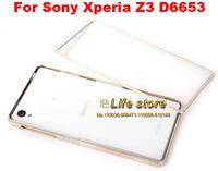 New Slim Sliding Bumper Mobile Phone Frame Bumper Aluminum Metal Bumper For Sony Xperia Z3 D6653