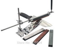 New Fix-Angle Professional Knife Sharpener Grinders 4 Stone Hone In Set Scissors Sharpener Piedra Afilar Afilador Kitchen Tool