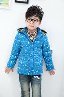 Children's wear the new 2014 children down jacket Han edition men's and women's children's wear down jacket coat