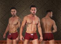 2014 Modal Sporty stripes U sac Underwear men High quality Brand Sexy Fashion Shorts Designer Briefs husband Seamless Tracksuit