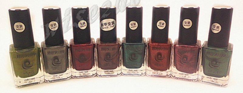 2014 hot! 3pcs/lot new 3 d magic changed 16ML send magnet magnetic nail polish HY375(China (Mainland))