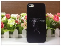 10pcs/lot Fifty shades of grey case cover new arrival fashion items PC hard housing luxury for Apple iPhone 5 5s 6