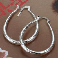 Wholesale! high quality 925 Sterling silver fashion jewelry, Solid U Shape Earrins E080