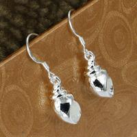 E216 Wholesale 925 silver earring 925 silver fashion jewelry earring Snail earrings
