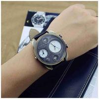 Fashion Oulm Brand Men Full Steel Watch Mens Sport Quartz Watches Antique Male Casual Clock Military Watch Relogio Masculino