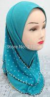 FTG001 new styles one piece GIRL Muslim hijab children islamic hijab