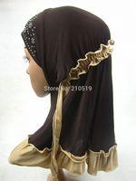 YA268 Latest design small size Muslim HIJAB for girls