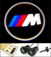 HOT SALE 4th Generation Car Door Lights for BMW M 7W Car Door Welcome Light Laser Lights with Car Logo Shadow Light #E116A
