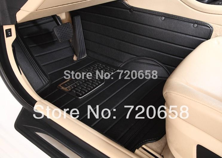 Luxury High Quality Car Floor Mats 5pcs/set Allrounded XPE customizable 14 Toyota corolla FJ CRUISER prado Yaris PREVIA(China (Mainland))