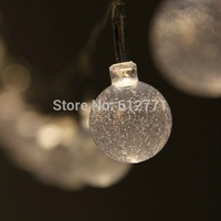 Christmas LED lights 3 M 30 PCS crystal ball light  decorative New Year light  creative lighting the Christmas tree is hanged