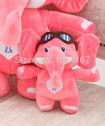 Hot! Classic Elephant Plush toys, children's gifts, Christmas gifts, 1pcs, free shipping!(China (Mainland))
