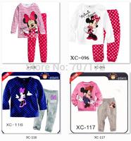 Free Shipping Iron Man Pajamas Baby boy girls Children's Cartoon Pyjamas Suits Minnie Mickey Kids Sleepwears