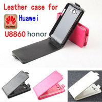 Free Shipping High Quality New Original FOR HUAWEI HONOR U8860 Leather Case Flip Cover HONOR U8860 Case Phone Cover In Stock