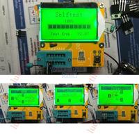 2014 Newest Transistor Tester Capacitor ESR Inductance Resistor Meter NPN PNP Mosfet  LCR METER LC  Digital led