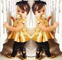 2014 Spring New Type A short paragraph golden girls princess skirt suit