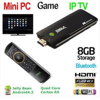 Rikomagic MK802 IV Android 4.2 Quad Core RK3188 2GB/8GB  A9 1.8GHz MINI PC TV MK802IV+MK705