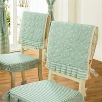 British Rural Idyll Eat Chair Cushion  Chair Cover Chair Bedding Bag(2piece)