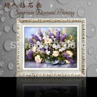 Diamond embroidery cross-stitch DIY diamond painting Vase Flower FIFTEEN