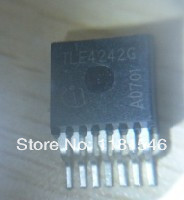 Free Shipping 10pcs/lot TLE4242G TLE4242 Adjustable LED Driver Wide input voltage range up to 42 V Low drop voltage(China (Mainland))